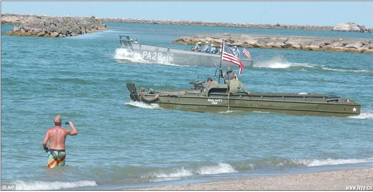 重演-二戰諾曼底 登陸艇.JPG
