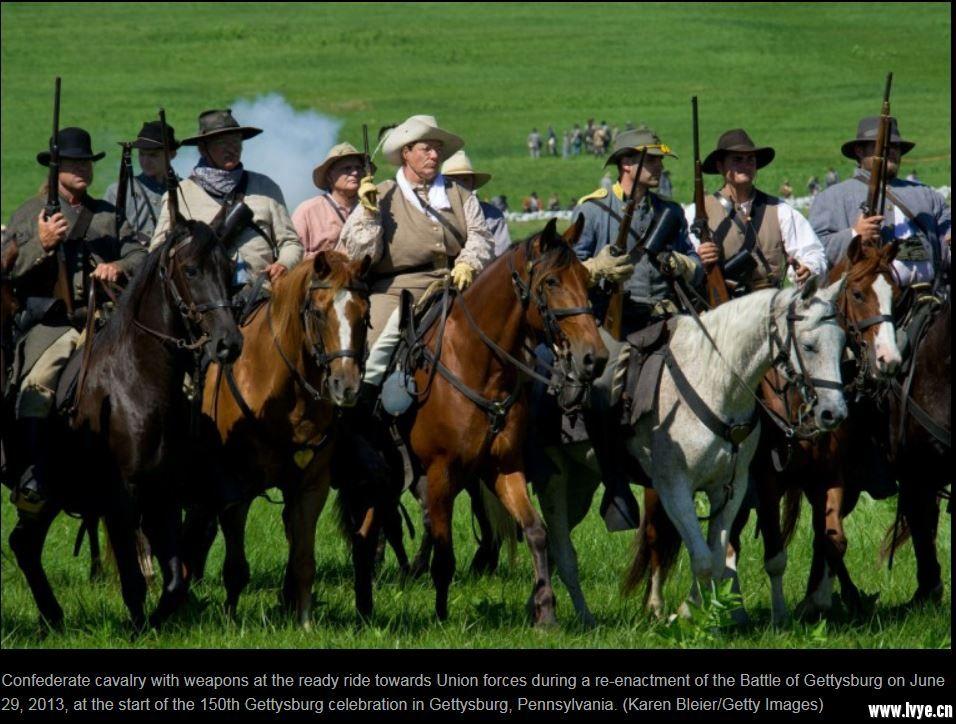 重演-美内戰 南軍騎兵.JPG