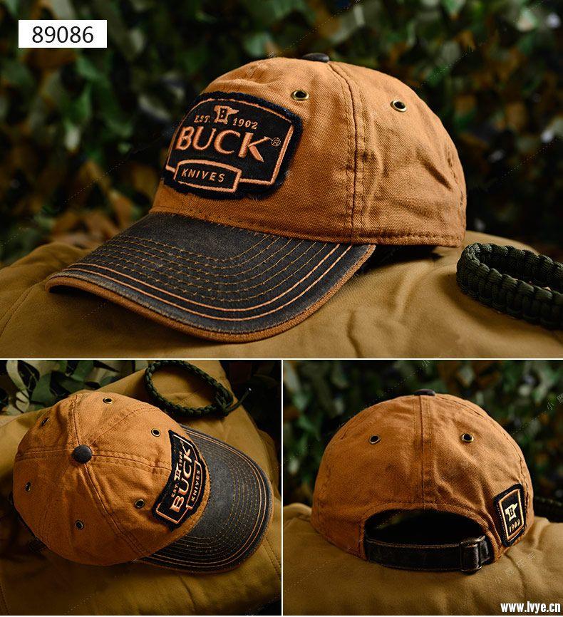 巴克 鸭舌帽 棒球帽 户外迷彩帽 丛林户外帽子
