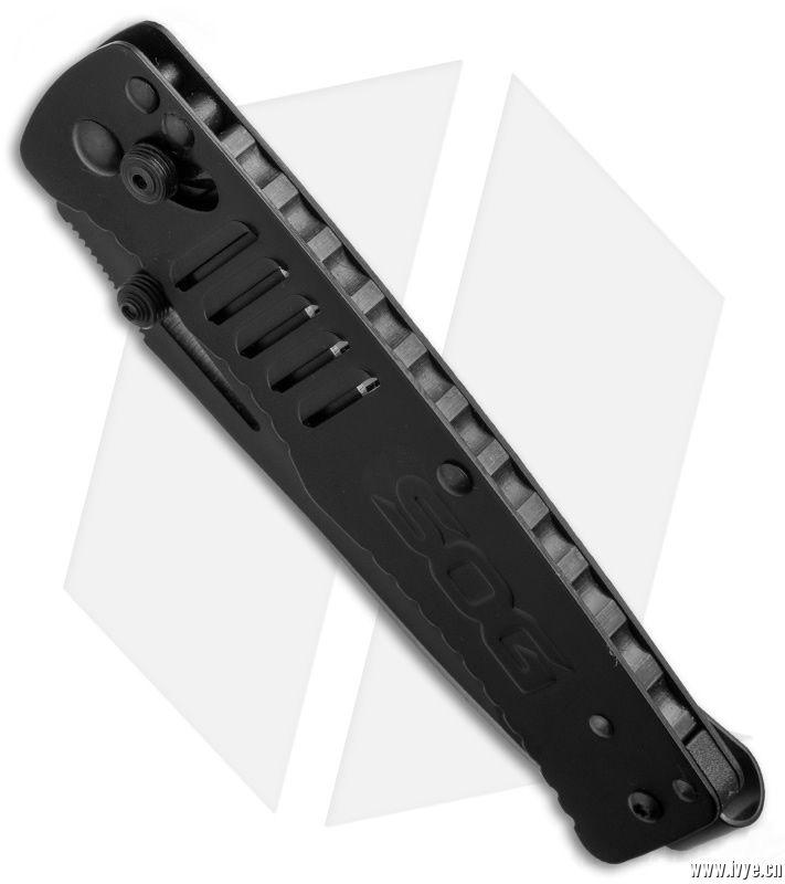 【18年新品】SOG 美国哨格 TG1002-BX 黑色折刀