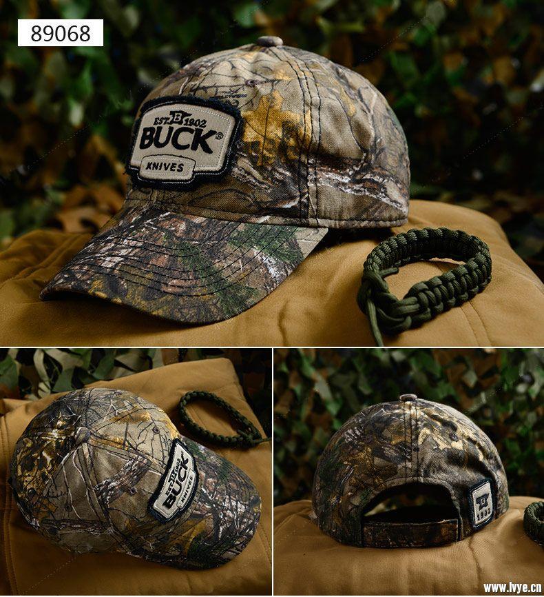 美国巴克 89068 鸭舌帽 户外迷彩帽