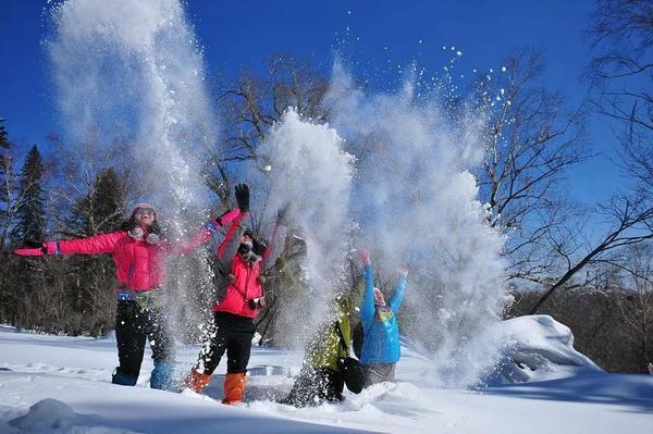 【原野户外】11月29~30日 长城岭免费滑雪 免费温泉