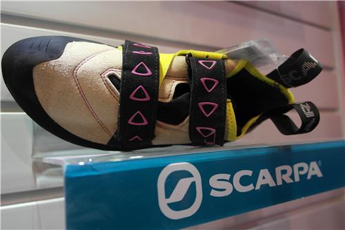 攀岩鞋带来新主张——SCARPA