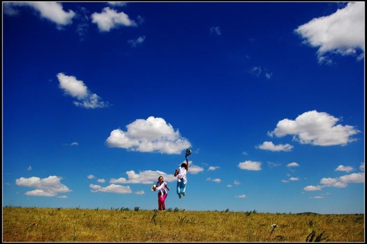 【IU部落】8.23日--25日~锡林郭勒草原~达里湖~骑马,漂流