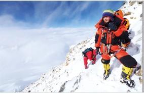 雪山上的红玫瑰 白天罗静个人浪漫登山故事分享会