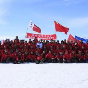中国第28次南极科考队挺进内陆740公里