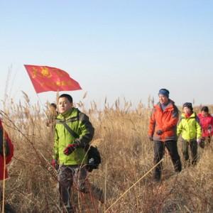 驴友组团练徒步 行程已达2600多公里