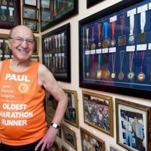89歲馬拉松選手欲再跑2年 等16歲孫子接班