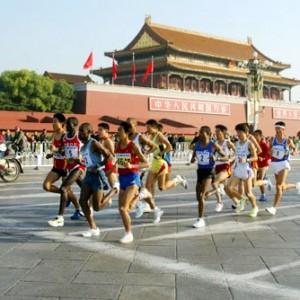 """北京長跑節避""""尿紅墻"""" 或推APP方便公廁尋找"""