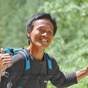 """河南農民91天從上海跑到西藏 獲贊""""中國阿甘"""""""