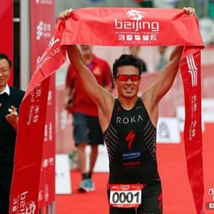 北京國際鐵人三項賽 西班牙諾亞獲得男子組冠軍