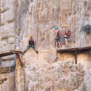 最惊险步道将再开放 1米宽位于峡谷峭壁上