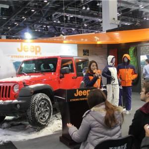 Jeep户外亮相ISPO Beijing
