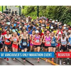 环球跑RunToWorld 2015加拿大温哥华马拉松行程