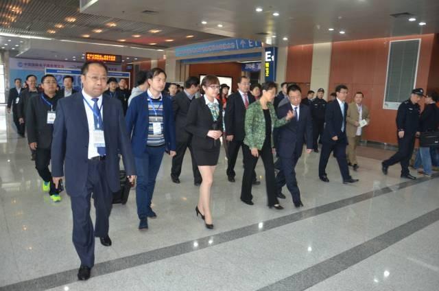二0一五中国国际电子商务展览会在义乌国际博览中心拉开帷幕