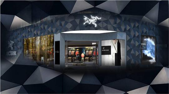 首家ARC'TERYX始祖鸟体验店落户上海香港广场