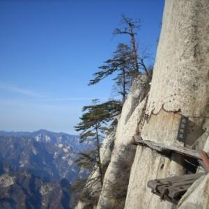 这样的山路,看着就已经腿软,你敢走吗?