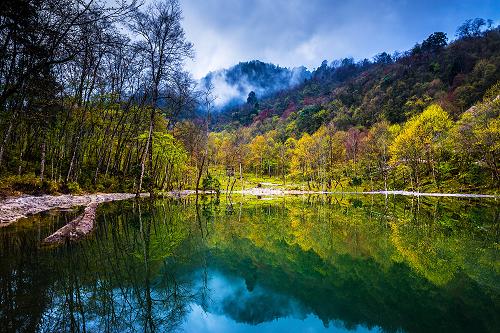 国庆旅游又添新景色——喇叭河今日隆重开园