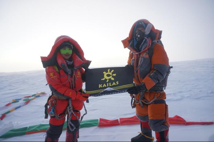 KAILAS凯乐石登山家罗静,登顶第10座8000+米的山峰