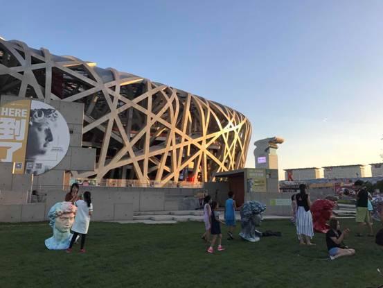 鸟巢米开朗基罗艺术展进驻北京国际设计周