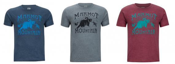 MARMOT 2018 春夏系列新品推荐——用2.25个塑料瓶做成的环保T恤