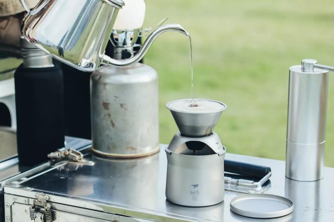 Keith Ti3911钛mini泡茶咖啡杯 2.0版本新品即将上市