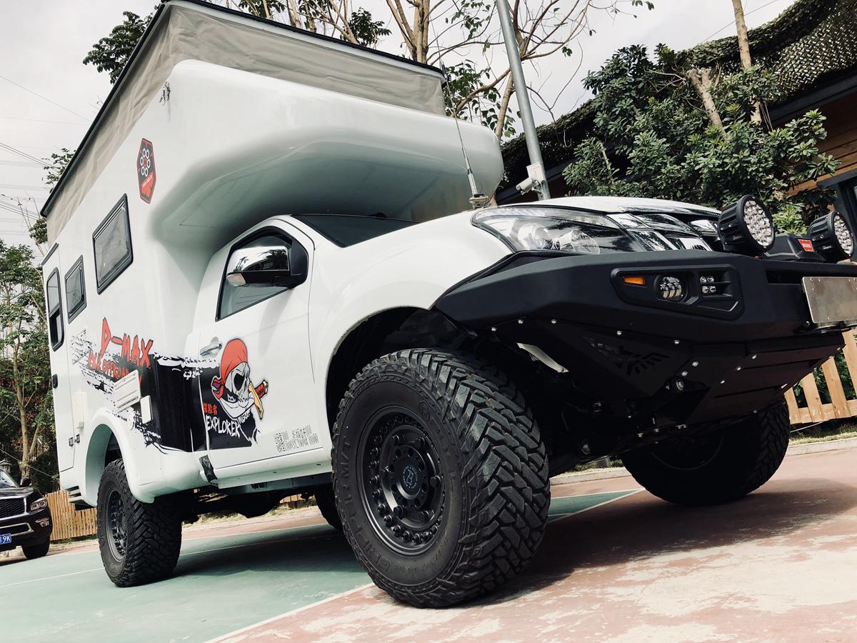 2018最新速腾D-MAX四驱越野房车,价格众筹新模式!