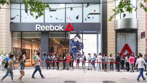 Reebok 锐步亚太首家旗舰店亮相上海,热身开幕!