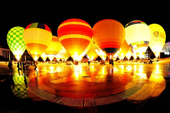 湖北襄阳将于9月迎来热气球全民盛会