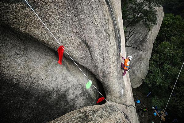 2018中国攀岩自然岩壁系列赛驻马店嵖岈山站圆满落幕