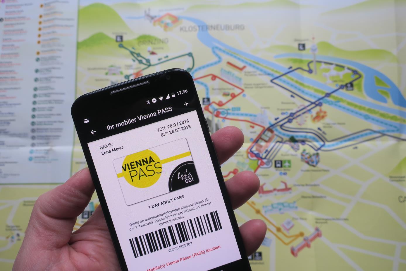 維也納城市通票上線智能手機版  支持iOS和安卓系統