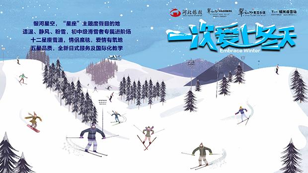 2018-2019雪季,翠云山銀河滑雪場最新最全風貌