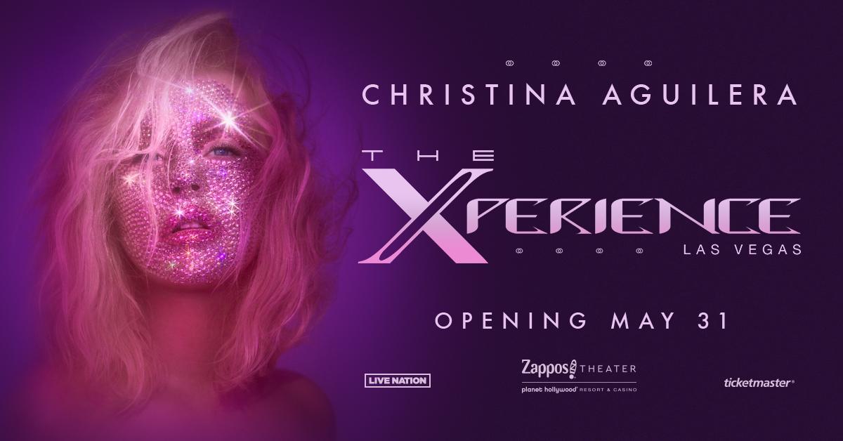 克里斯蒂娜•阿奎莱拉宣布入驻好莱坞星球酒店high翻拉斯维加斯 ... ...