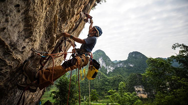 """等你来高""""攀"""" ——中国攀岩自然岩壁系列赛马山迎首站"""