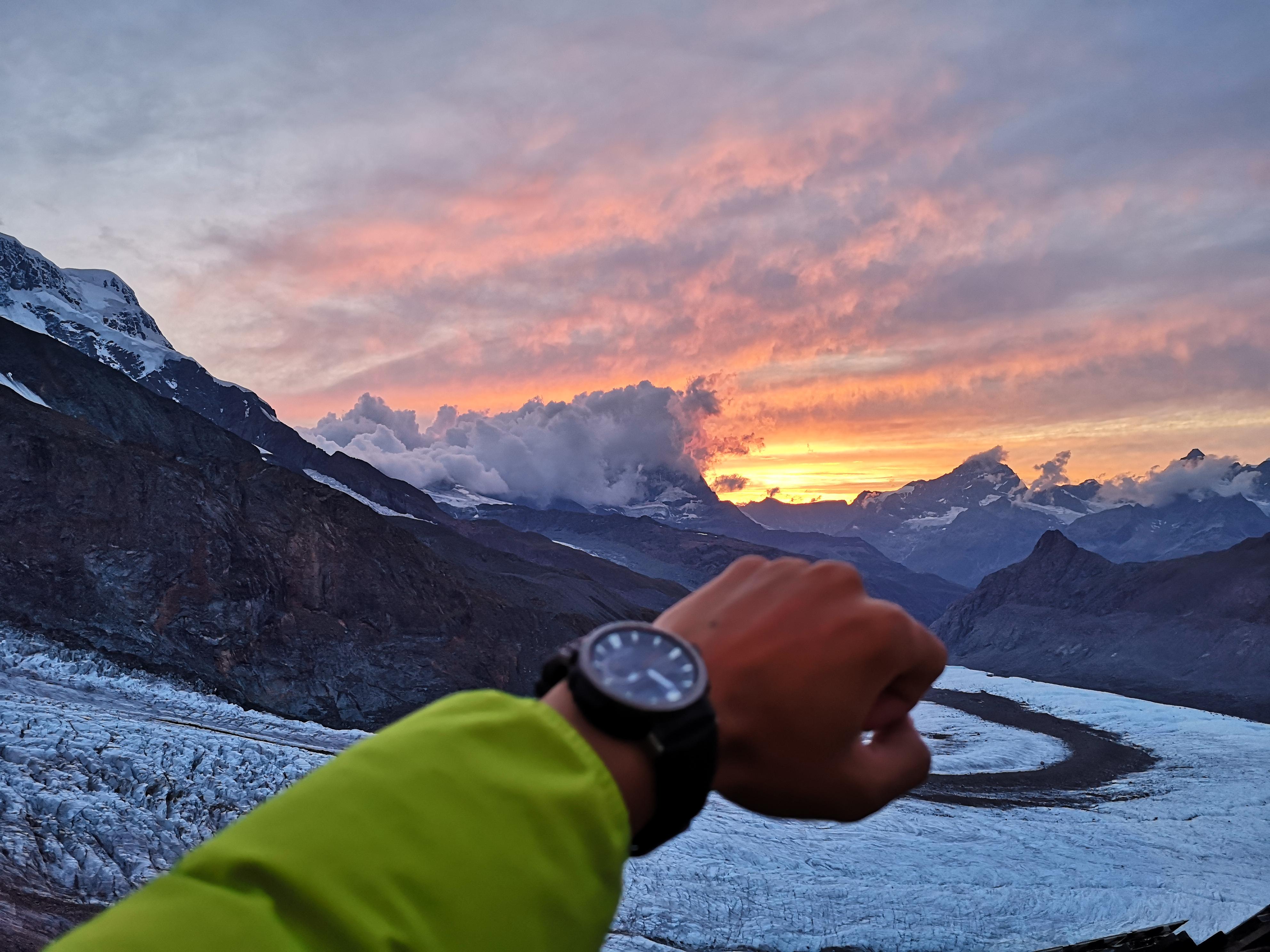 遗落在人间的天堂-瑞士 PRO TREK PRW-60Y陪我看遍世间美景