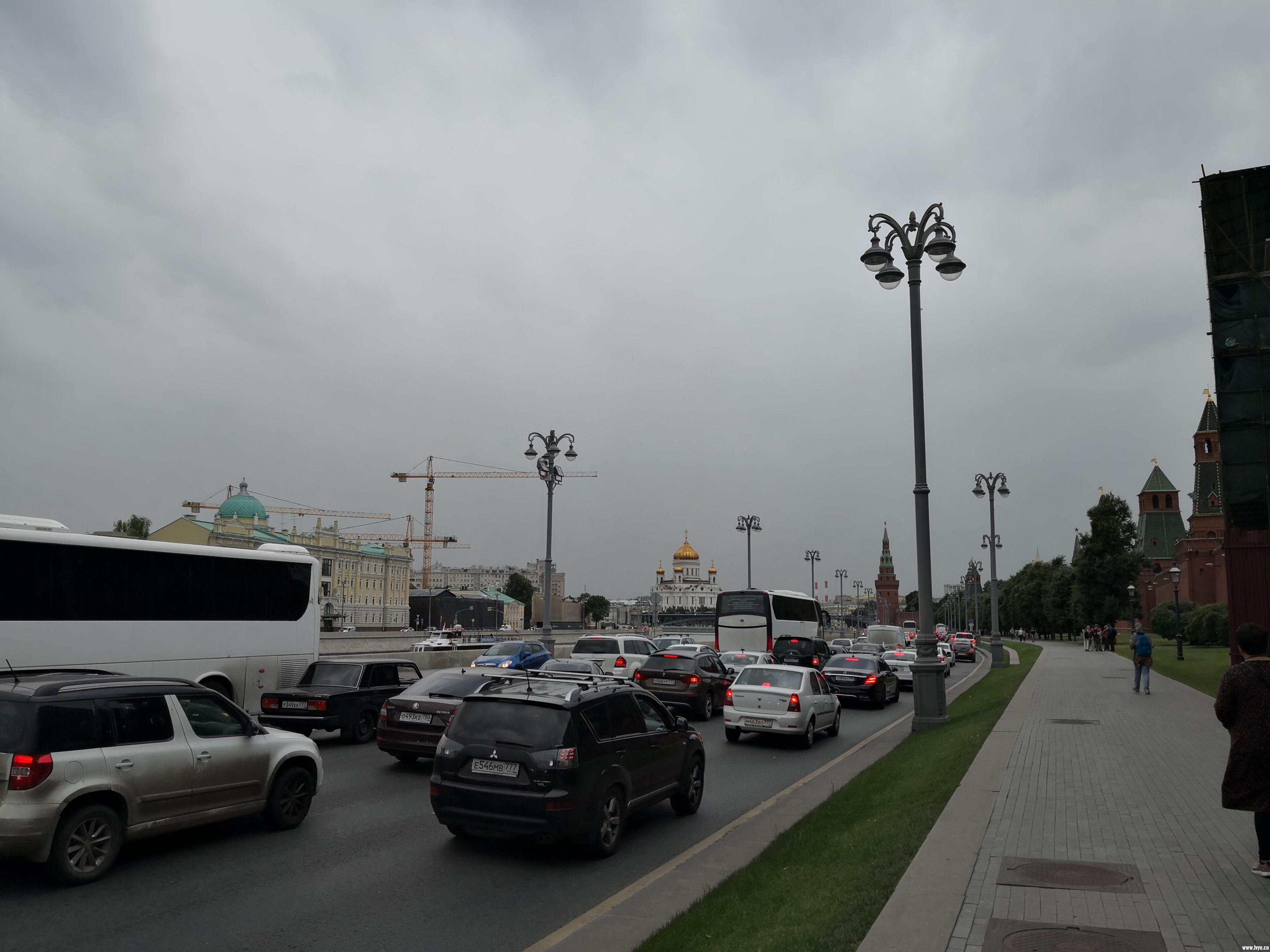 15.莫斯科也堵车